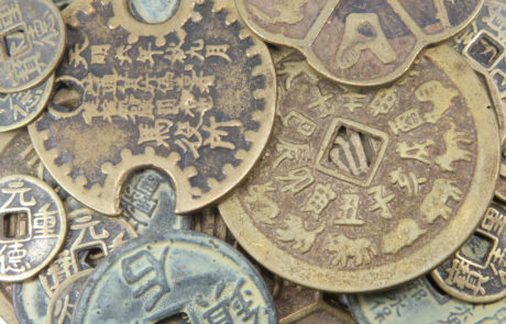 """Символы по Фен Шуй"" : Китайские монеты"